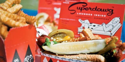 Johnny Cupcakes x Superdawg