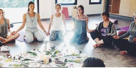 Bien-être pour femmes : Relaxation corporelle énergétique et méditation guidée en groupe tickets