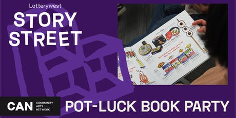 Pot-Luck Book Party tickets