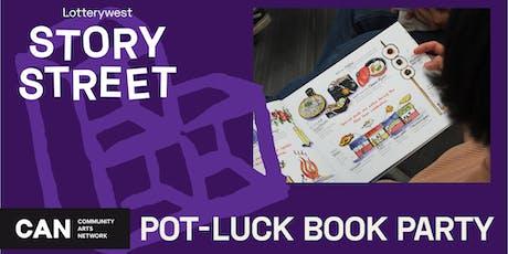Pot-Luck Book Party tickets