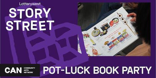 Pot-Luck Book Party