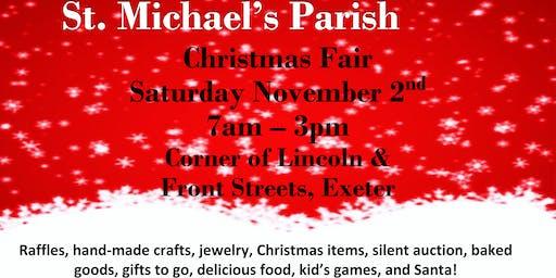 St Michael Parish Christmas Fair