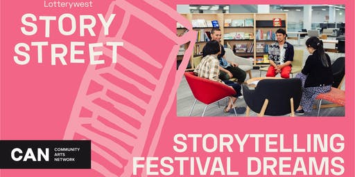 Storytelling Festival Dreams | Community Brainstorm