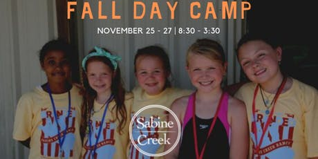 Sabine Creek Ranch Day Camp FALL 2019 tickets