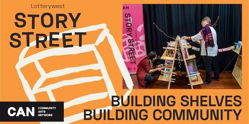 Building Shelves, Building Community