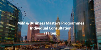 MSc in Management & Business Master's Programmes Individual Consultation in Taipei