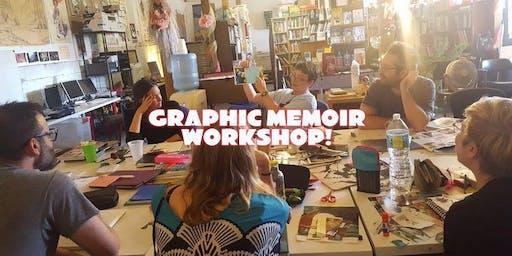 Graphic Memoir 3-Day Workshop - Feb 15-17, 2020