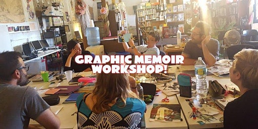 Graphic Memoir 3-Day Workshop - Feb 15-17, 2020