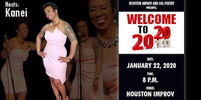 """Sol-Poetry """"Welcome to 2020"""" Poetry Event"""