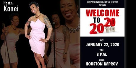 """Sol-Poetry """"Welcome to 2020"""" Poetry Event tickets"""