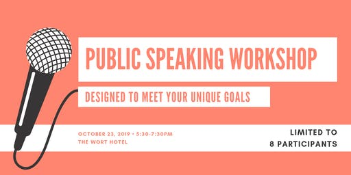 Public Speaking Workshop Coaching