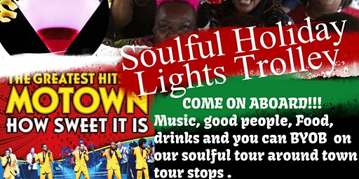 Celebrating Motown Soulful Music Holiday Trolley