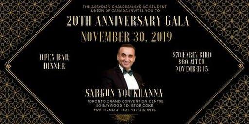 ACSSU Gala 2019 - 20th Anniversary