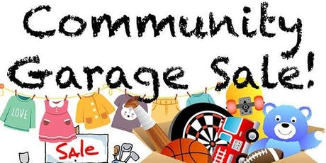 Mega community garage sale tickets