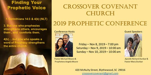 Crossover Covenant Church Prophetic Conference