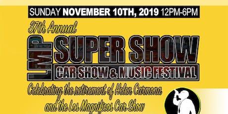 37th Annual LMP Car Show & Concert (Los Magnificos) tickets