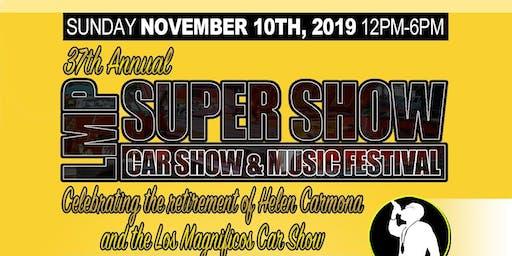37th Annual LMP Car Show & Concert (Los Magnificos)