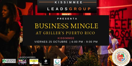 Business Mingle at Griller's Puerto Rico