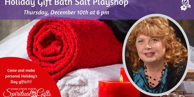 Holiday Bath Salts Playshop with Vialet Rayne