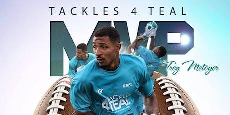 Tackles 4 Teal Weekend  vendor & athlete registration tickets