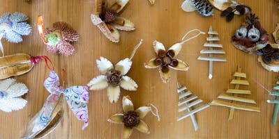 Children's workshop: Make your own botanical Christmas decorations - Dec 2019