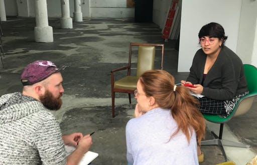 Artist Talk with Eli West, Lilia Hernandez Galusha and Vanessa Calvert