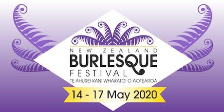 NZ Burlesque Festival 2020 - Welcome Event tickets