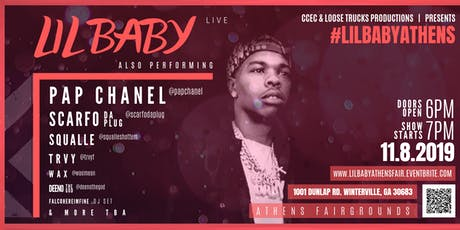 Lil Baby Live @ Athens Fairgrounds tickets