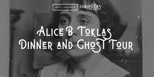 Alice B. Toklas Dinner & Ghost Tour