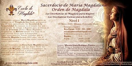 Sacerdocio de Maria Magdalena Nivel 1 boletos