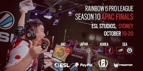 Rainbow 6 Pro League Season X APAC Finals tickets