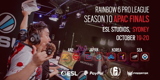 Rainbow 6 Pro League Season X APAC Finals