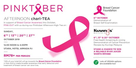 PINKtober Afternoon Chari-TEA Buffet tickets