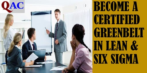 Certification Course On Lean Six sigma Green Belt