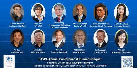 AI: From Silicon to Software -- CASPA 2019 Annual Dinner Banquet tickets