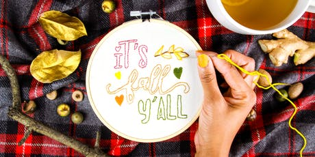 Intro To Embroidery Workshop at West Elm tickets