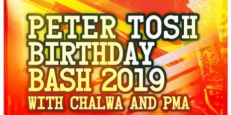 Chalwa and PMA Peter Tosh Birthday Bash tickets