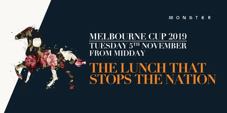 Melbourne Cup at Monster tickets