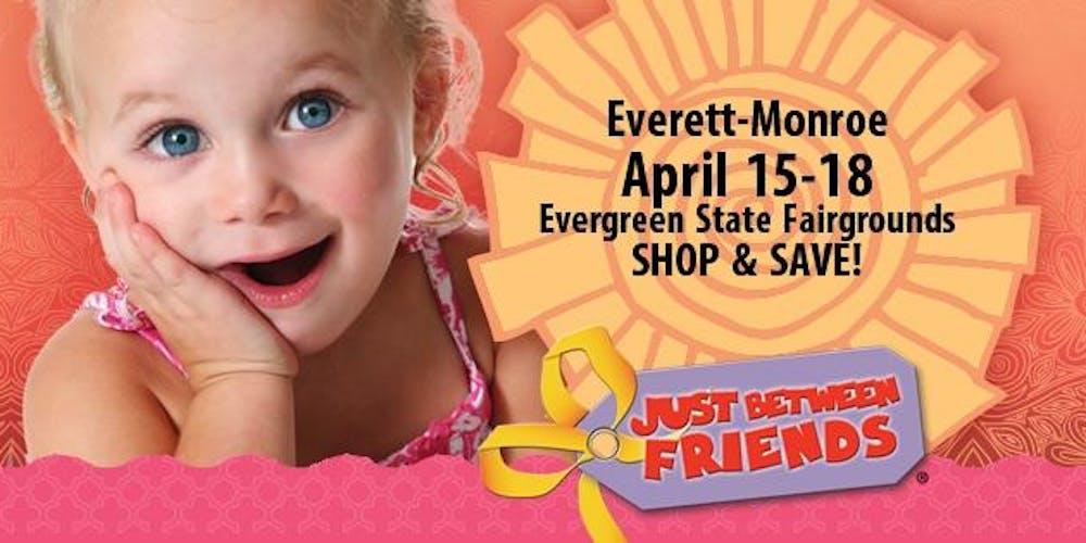 Evergreen State Fair 2020.Just Between Friends Everett Monroe Consignment Event