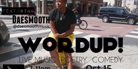 Dae Smooth Live @WordUp!