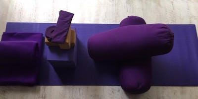 1:1 Restorative Yoga @ Pimlico Osteopathy