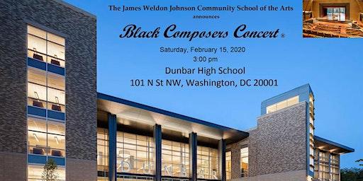 2020 Black Composers Concert®
