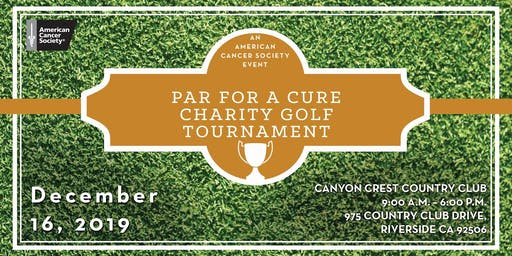 Par For A Charity Golf Tournament