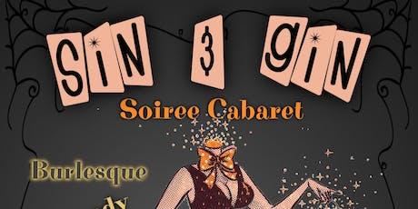 Sin & Gin Soiree Cabaret - Masquerade! tickets