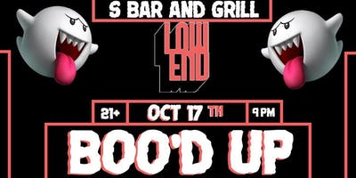 Low End Presents: Boo'd Up (Halloween Party)