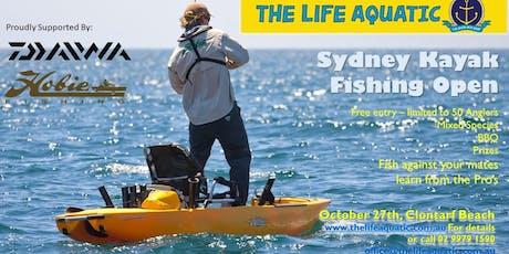 Sydney Kayak Fishing Open tickets