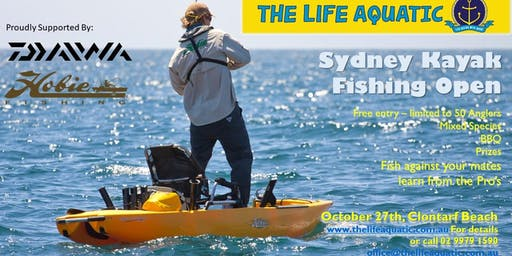 Sydney Kayak Fishing Open