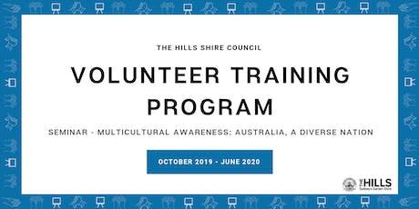 Seminar - Multicultural Awareness: Australia, A Diverse Nation tickets