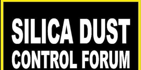 Silica dust control forum tickets