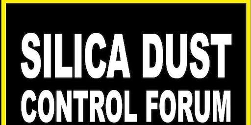 Silica dust control forum